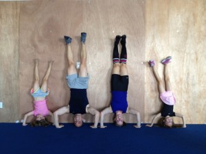 Basca Family Headstands